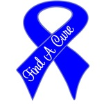 Find a Cure Colon Cancer Shirts and Gifts