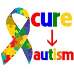 Cure Autism Apparel and Shirts