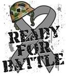 Ready For Battle Brain Cancer Shirts