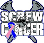 Screw Male Breast Cancer Shirts