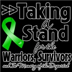 Taking a Stand Bile Duct Cancer Shirts