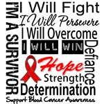 Blood Cancer Persevere Shirts