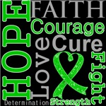 Hope Faith Courage Bile Duct Cancer Shirts