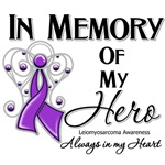 In Memory of My Hero Leiomyosarcoma Shirts