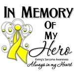 In Memory of My Hero Ewing Sarcoma Shirts