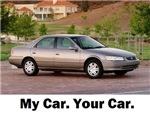 My car. your car.