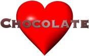 Chocolate Love Red Heart