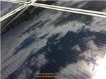 Solar Panel w/Cloud