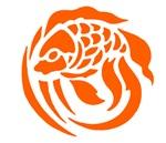 Orange Fish Design