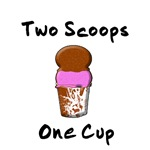 2 Scoops 1 Cup Shirts