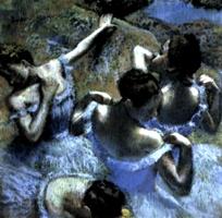 Degas' Blue Dancers