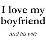 Boyfriend/his wife