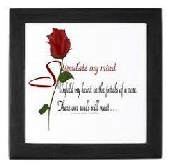Romantic Poetry Keepsake Boxes