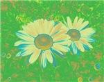 Green - Daisies