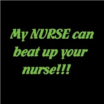 My nurse can take yours....