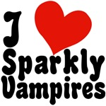 I Love Sparkly Vampires T-shirts