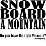 The Snowboard Formula
