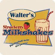 Walter's Strawberry Milkshakes