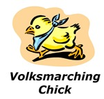 Volksmarching Chick