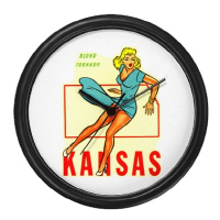 Vintage Travel Labels/Pin-up