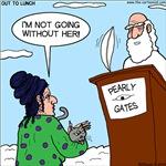 Cat Lady in Heaven