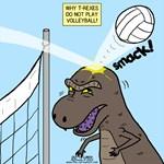 T-Rex Volleyball