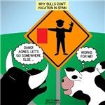 Bullfighter Warning