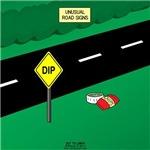 Dip Warning Sign