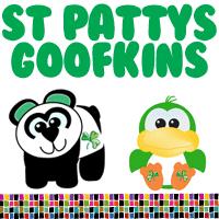 St. Patrick's Day Irish Goofkins