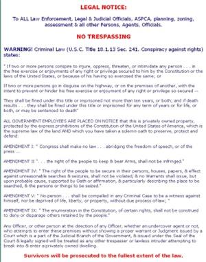 Legal Notice #2