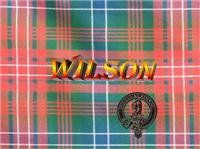 Wilson Tartan & Badge Men's Clothing