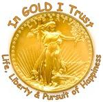 Gold Liberty Gold Motto