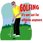 Golfing not just for athletes anymore