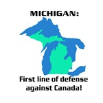Michigan first line of defense against Canada