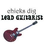CHICKS dig lead guitarists
