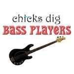 CHICKS dig bass players