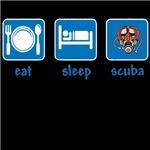 eat sleep scuba