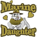Marine Corp Daughter (Devil Dog)