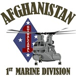 1st Marine Division - Afghanistan CH-46