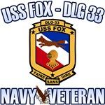 USS Fox Navy Veteran