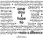ONE DAY I HOPE TO...(CLICK TO SEE ALL & CONTRIBUTE