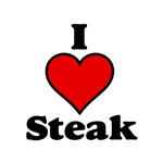 I heart Steak