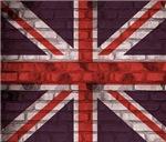 Brick Wall Union jack Flag
