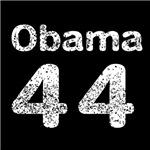 Vintage White Obama 44