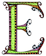 What Fun Monogram E