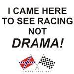 REBEL & CHECKERED FLAG<br/>RACING NOT DRAMA