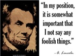 Say Any Foolish Things