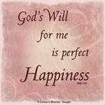 ACIM-God's Will for Me