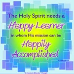 ACIM-Holy Spirit Needs A Happy Learner