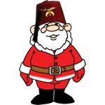 Santa the Shriner